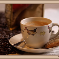 één kopje koffie