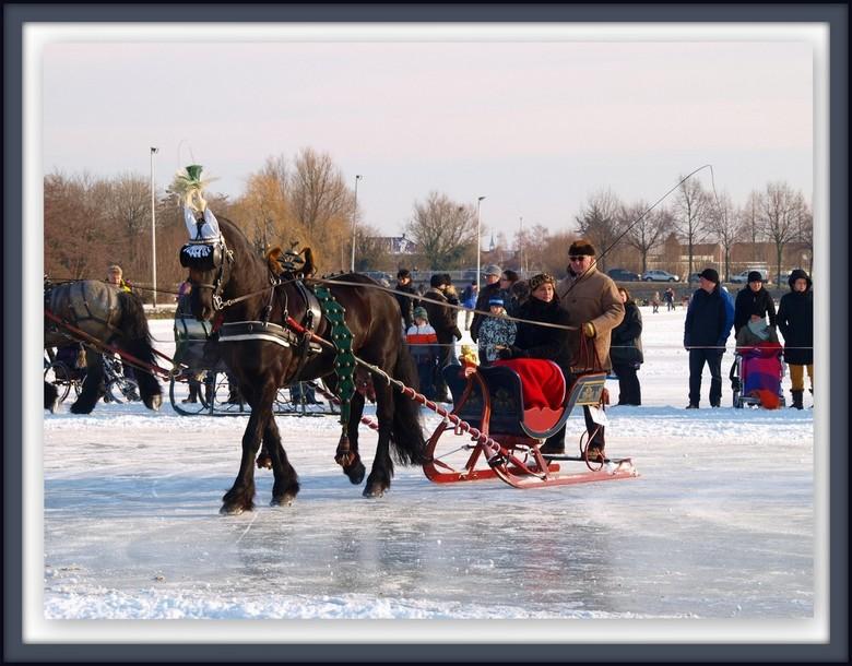 winter - Ringrijden met de arretikker.<br /> In de Hoeksewaard hebben we een zeer actieve menclub, die afgelopen weekend veel hebben gereden met de a