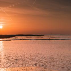 Sunset @ Nieuwe-Statenzijl