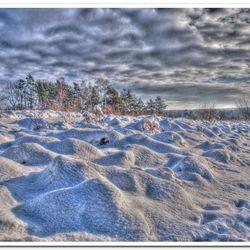 HDR Winterlandschap