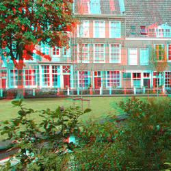 Begijnhof Amsterdam 3D