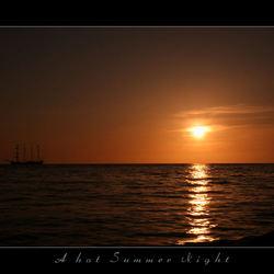 A hot summer night