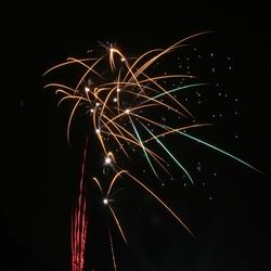 oudjaar vuurwerk