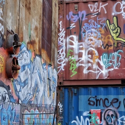 Graffiti IJhallen Amsterdam