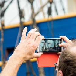 Foto's maken op Sail 2015