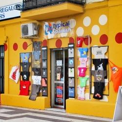 Souvenirwinkel in Sevilla
