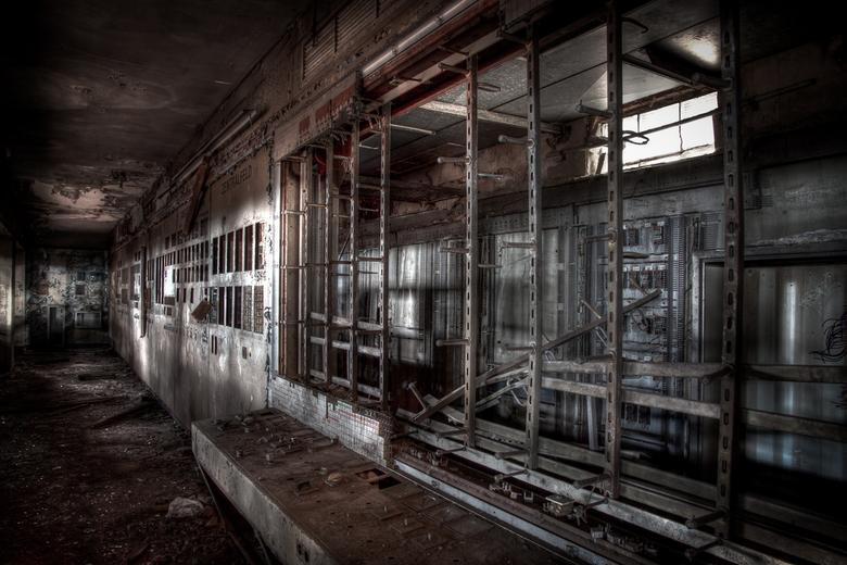 Lost control - Leeggehaalde bedieningspanelen in de sinteranlage in Duisburg