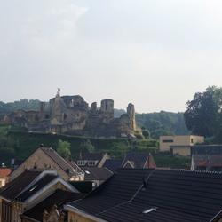 Kasteel ruïne in Valkenburg