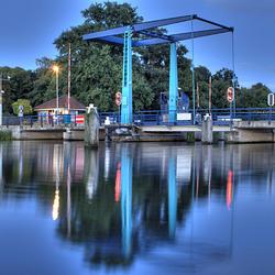 Brug over de oude IJssel bij Laag Keppel