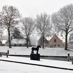 Heenvliet in de sneeuw