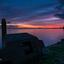 Zonsondergang boven de Gouwzee