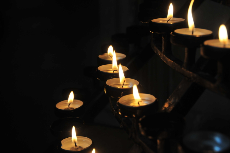 Kaarsen - Kaarsen in Canterbury Cathedral.