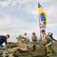 Kiev - Mat Rodina - Kinderen op tank
