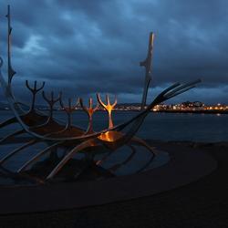 Nachtelijk IJsland