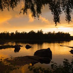 Sunset Zweden