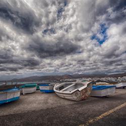 vissersdorpje Lanzarote