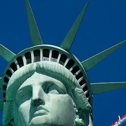 Vrijheidsbeeld in New York (USA)