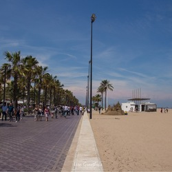 Strand Valencia
