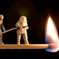 mini brandweermannen