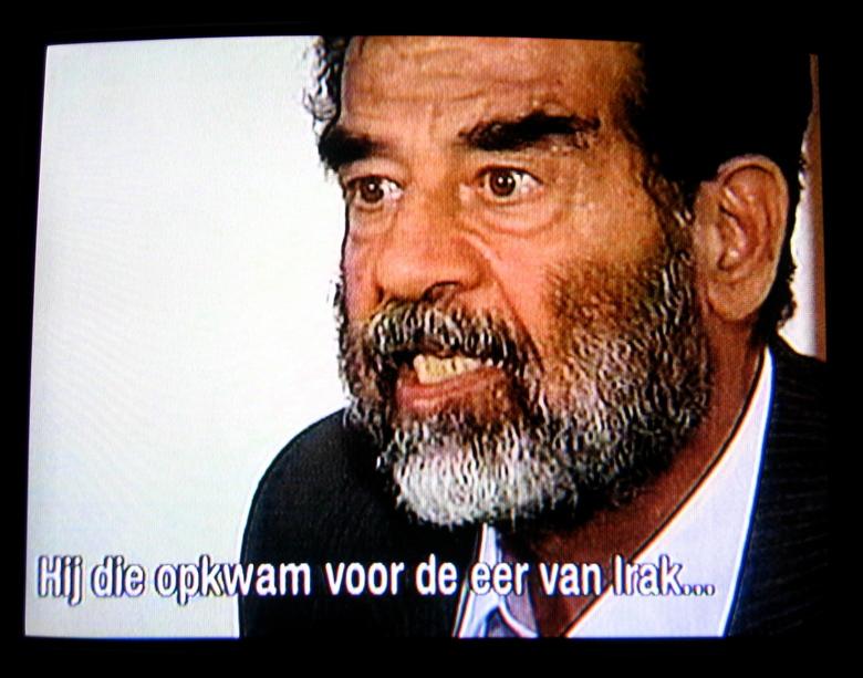 Zelfbeeld - Wijlen Saddam Hoessein dacht er het zijne van!