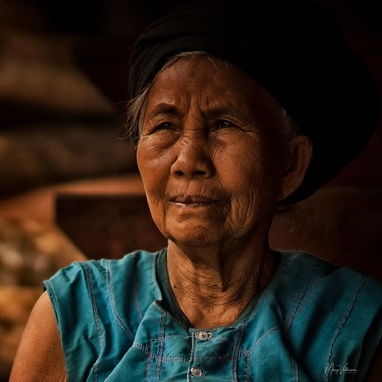 Bulang vrouw - Bulang vrouw uit Yunnan, China