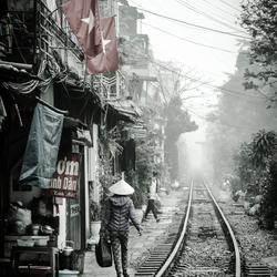 Spoorlijn in Azie