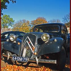 Citroën in het najaar