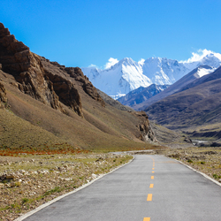 Road to the Himalayas