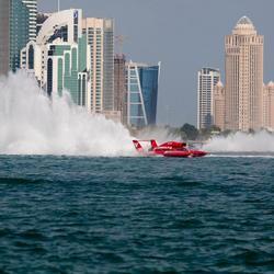 Powerboot race Doha