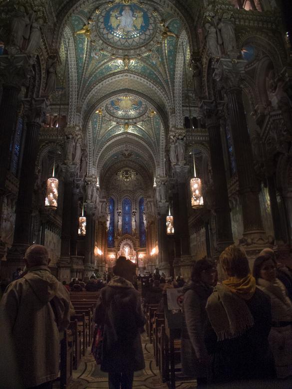 Basiliek Notre-Dame de Fourvière, Lyon -