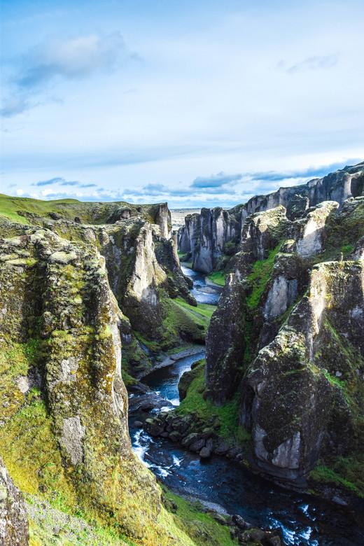 Canyon - Canyon in IJsland