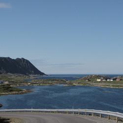 weg naar Gjesvær