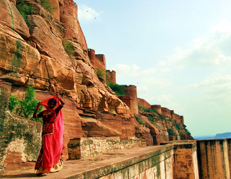 Colourful India - Mehrangarh Fort<br />