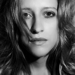 Claudia in zwart/wit