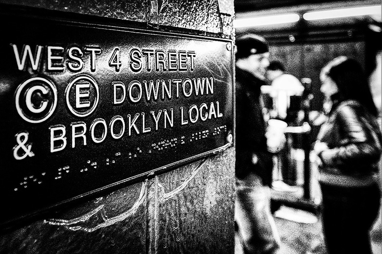 New York 09 - Het metronetwerk van New York is zo uitgebreid (386 Km) dat je zonder veel moeite snel van de ene kant na de andere kant kunt reizen en