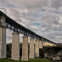 Viaduct in volle glorie