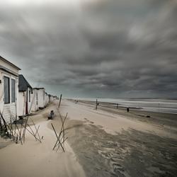 Strandhut in Texel