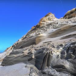 Vormen, lijnen en structuren in het zand