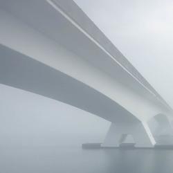 Misty Zeelandbrug
