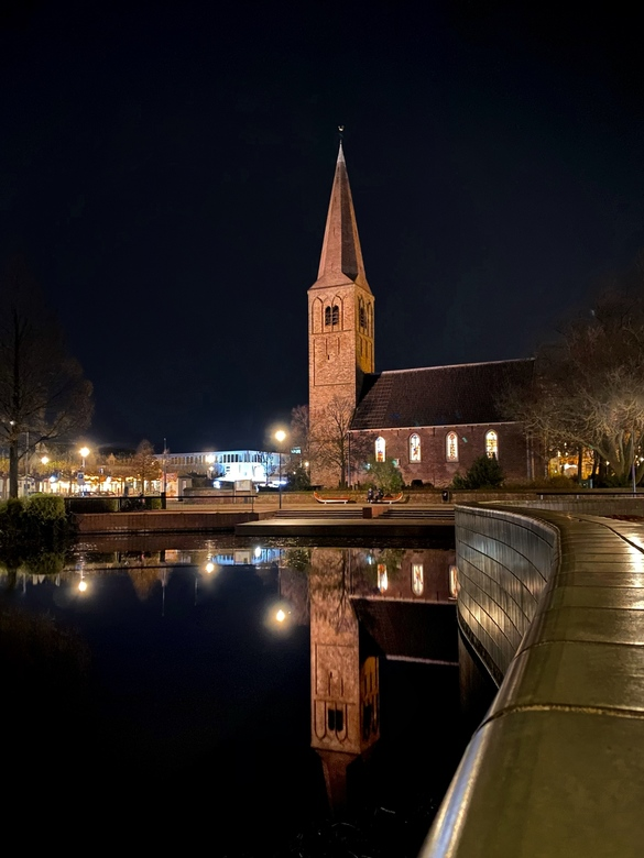 Reflection by night  -