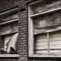 board up windows ..