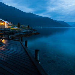 Night in the Sognefjord