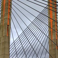 Lijnenspel van een brug