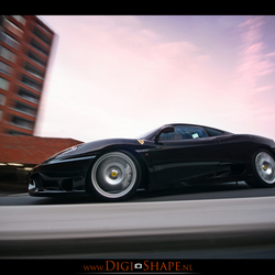 Challenge Stradale in motion