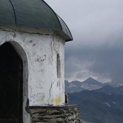 Kleine huisje op de Ankogel (AUT)