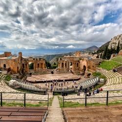Teatro Greco Taormina Sicilië