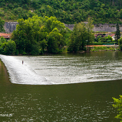 Rivier de Loire bij Cahors
