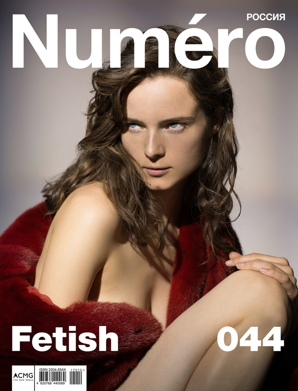 COVERNUMERO2 - ANNA DE RIJK POUR NUMERO RUSSIA<br /> shot by carlijn jacobs styled by emelie hultqvist