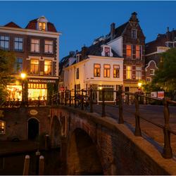 Utrecht bij Nacht