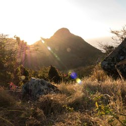 Thais Hill in Saba